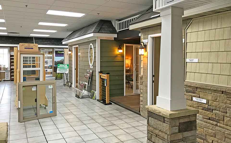 Building supply showrooms in Missouri and Illinois