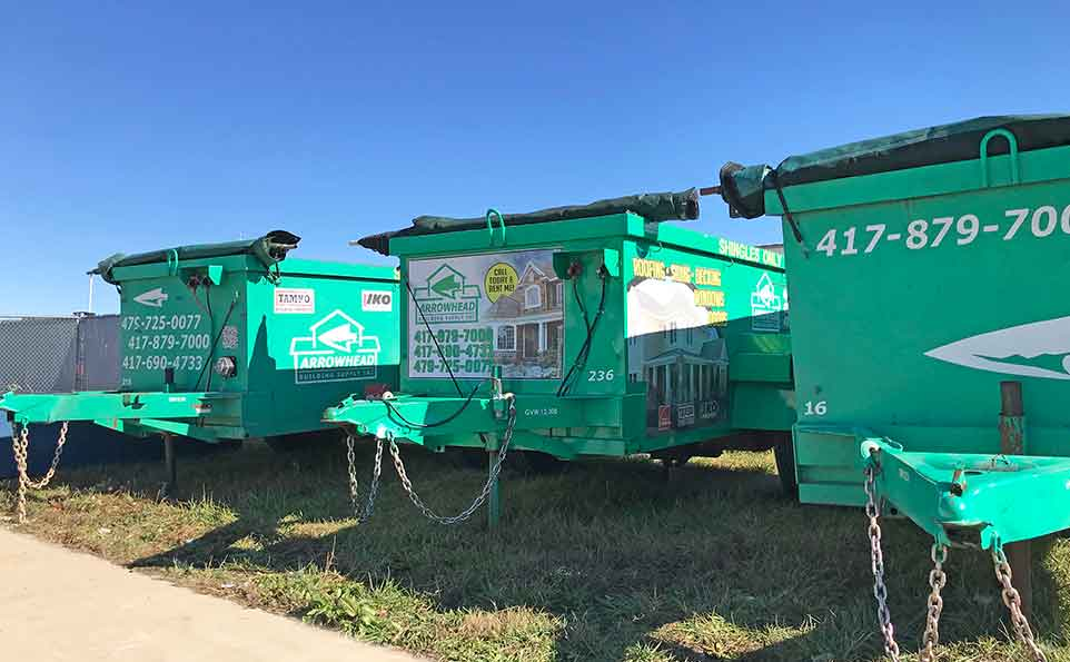 Shingle Recycling bins to rent in Missouri