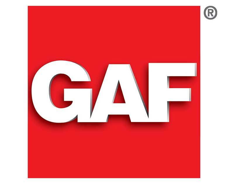 GAF Roofing supplies