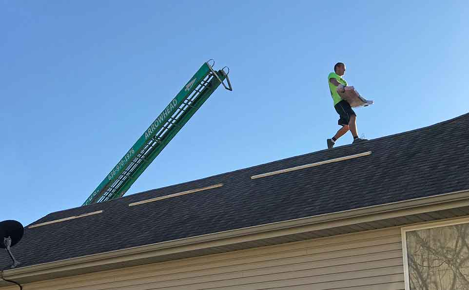 Rooftop Shingle Delivery services